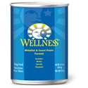 Wellness Whitefish & Sweet Potato Canned Dog Food 12/12.5oz Case wellness, canned, wet, dog food, dog, food, Whitefish, Sweet Potato