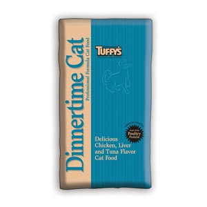 Tuffys Dinnertime Cat Food 40 lb tuffys, tuffy's, cat food, cat, dry, dinnertime