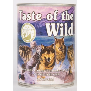 Taste of the Wild Dog Can Wetland 12/13.2oz taste of the wild, canned, wetlands, wetland, dog food, dog