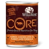Wellness CORE Grain Free Canned Dog Food 12/12.5 oz Case wellness, core, grain free, canned, dog food, dog