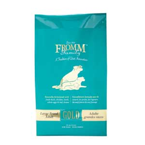 Fromm Large Breed Adult Gold Dog Food 33 lb fromm, large breed adult, gold, adult, large, Dry, dog food, dog