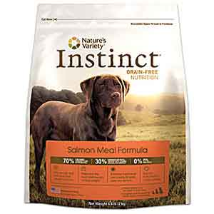 Natures Variety Instinct Grain Free Salmon Dog Food 25.3 lb natures variety, natures variety, grain free, instinct salmon, salmon, Dry, dog food, dog