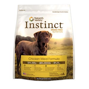 Nature's Variety Instinct Chicken Meal Dog Food 25.3 lb natures variety, nature's variety, instinct chicken meal, chicken, Dry, dog food, dog