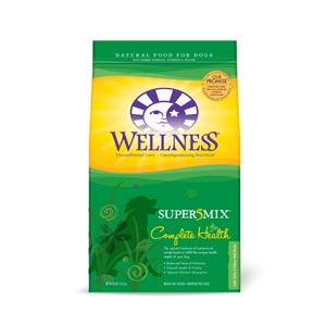 Wellness Super5mix Lamb Dog Food 30 lb wellness, supermix, super5mix, lamb, Dry, dog food, dog