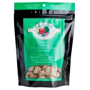 Fromm Lamb with Cranberry Dog Treats 8 oz fromm, lamb & cranberry, lamb and cranberry, dog treats