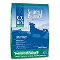 Natural Balance Alpha LAMB/CHICKEN/RABBIT Natural Balance, Alpha, Lamb, Chicken, Robbit, Dry, dog food, dog