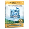 Natural Balance Potato & Duck Formula Dog Food Natural balance, Sweet potato, duck, Dry, dog food, dog