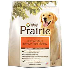 Natures Variety Prairie Salmon Brown Rice Dog Food 27 lb natures variety, natures variety, prairie salmon, salmon, brown rice, Dry, dog food, dog