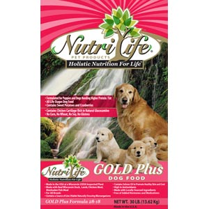 Nutri Life Gold Plus Dog Food nutri life, gold plus, Dry, dog food, dog