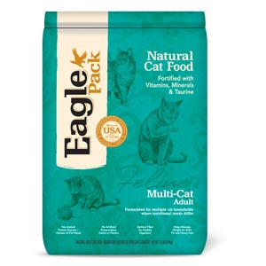 Eagle Pack Multi-Cat Food 12 lb Eagel, Eagle Pack, Cat food, dry, multi cat