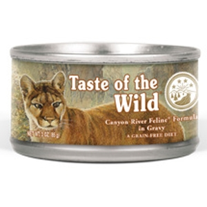 Taste of the Wild Cat Canned Canyon River 24/3oz taste of the wild, canyon river, Cat food, canned, cat