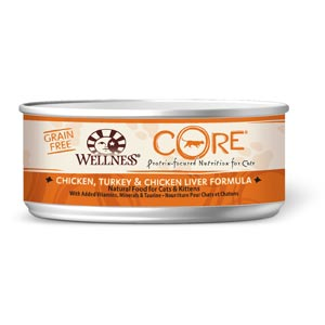 Wellness CORE Grain Free Cat Canned 24/5.5 oz Case wellness, grain free, core, Cat food, canned, cat