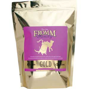 Fromm Kitten Gold Cat Food 2.5 lb fromm, kitten, Cat food, dry, gold