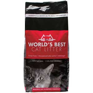 Worlds Best Cat Litter Scented 34 lb Cat Litter, worlds best, worlds best cat litter scented