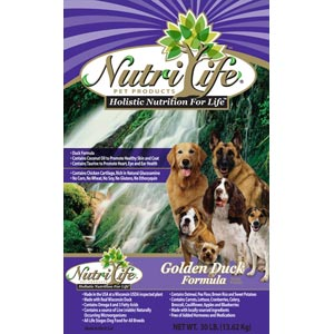 Nutri Life Golden Duck Dog Food nutri life, golden duck, Dry, dog food, dog