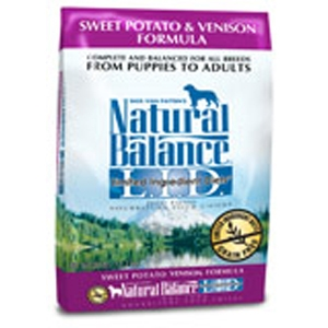Natural Balance Sweet Potato & Venison Formula Dog Food Natural balance, sweet potato, venison, Dry, dog food, dog