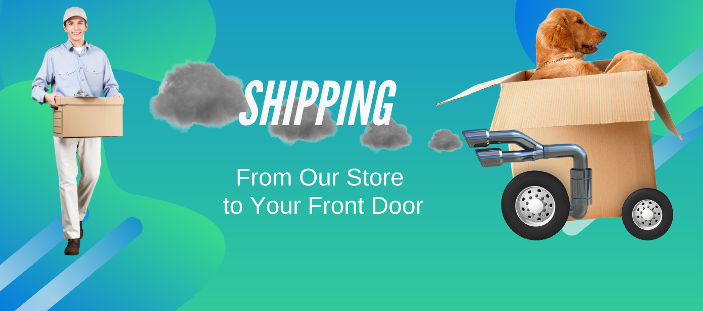 Shipping from our store to your front door