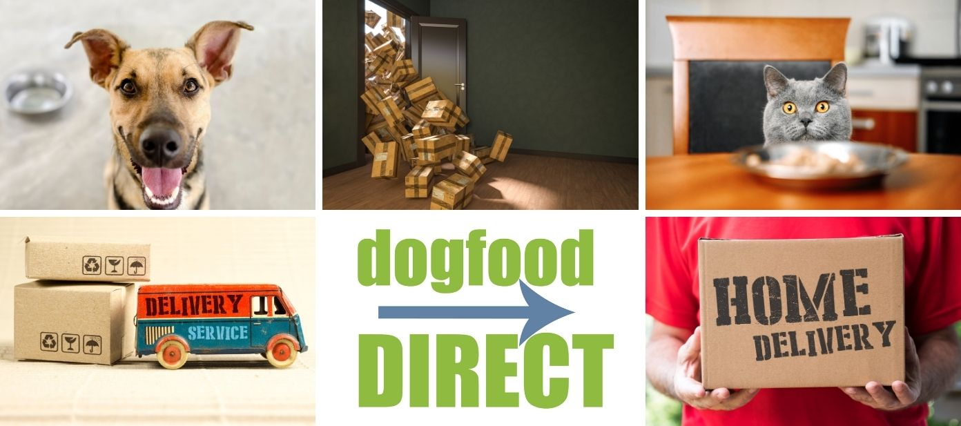 Dog Food Direct from our store to your door