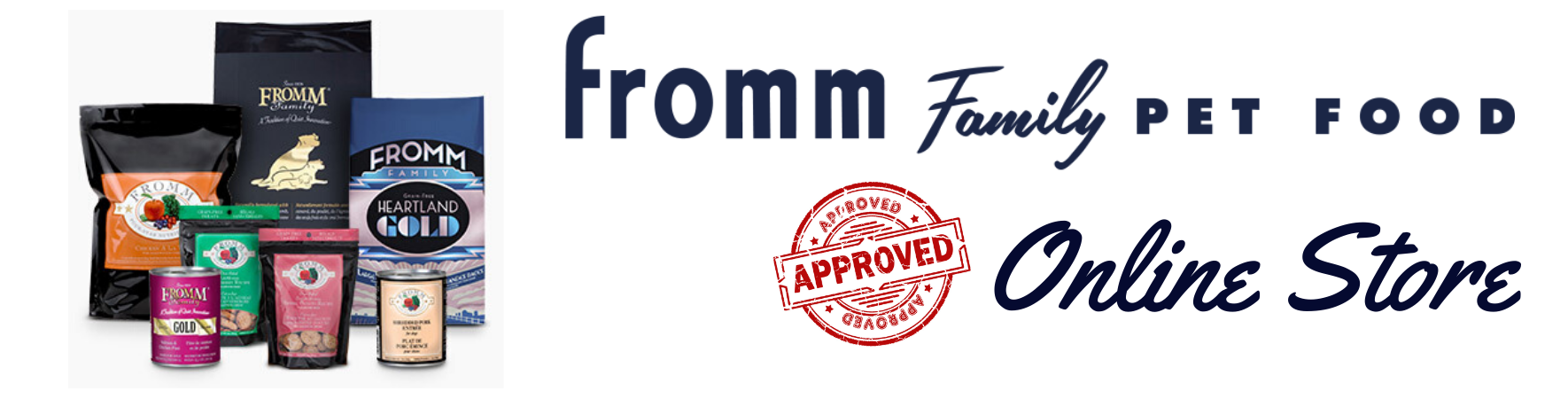 Fromm Family Pet Food for dogs and cats Made in USA Authorized Online Retailer