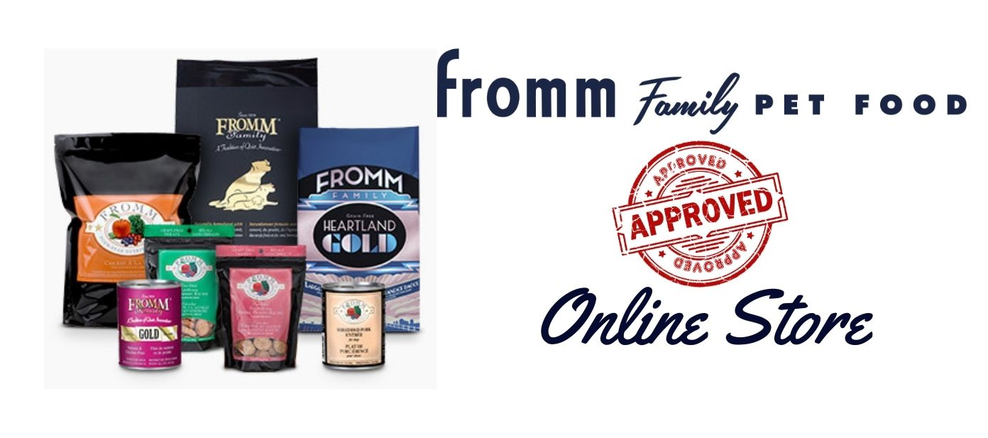 Fromm Family Pet Food Fromm dog food fromm cat food Made in USA Wisconsin