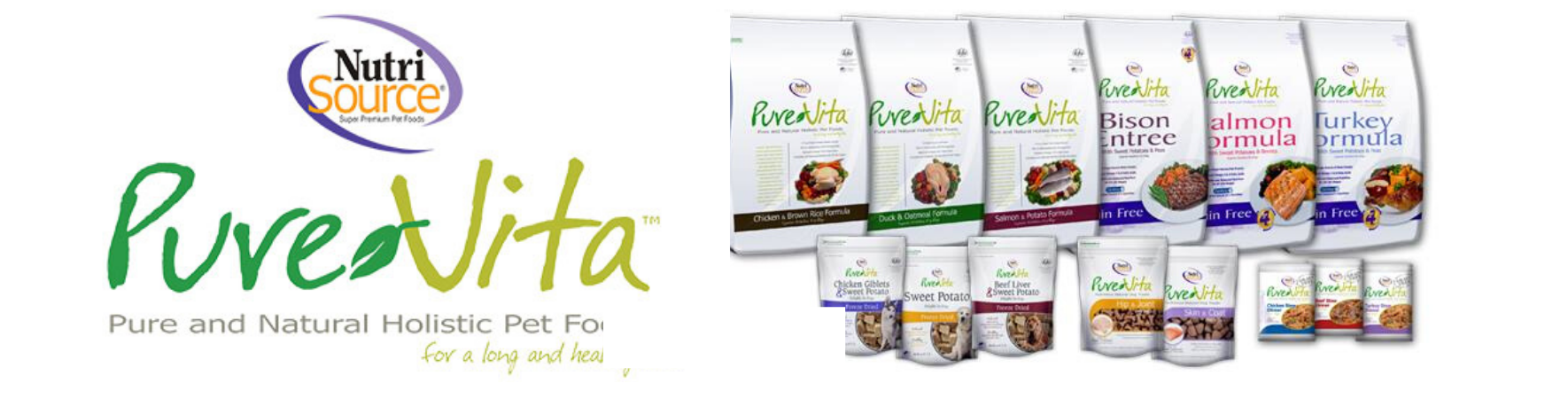 Pure Vita Dog and Cat Food Made in the USA Pure Natural Holistic Pet Food