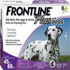 Frontline Plus Dogs 45-88 lbs