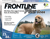 Frontline Plus Dogs 23-44 lbs