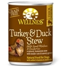 Wellness Turkey & Duck Stew Can Dog Food 12/12.5 oz Case wellness, turkey & duck, stew, turkey and duck, canned, dog food, dog