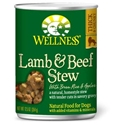Wellness Lamb & Beef Stew Can Dog Food 12/12.5 oz Case wellness, lamb & beef, stew, lamb and beef, canned, dog food, dog