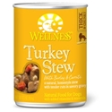 Wellness Turkey Stew Can Dog Food 12/12.5 oz Case wellness, turkey, stew, canned, dog food, dog
