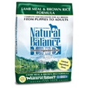 Natural Balance Lamb Meal and Brown Rice Dry Dog Food Natural balance, lamb, rice, lamb meal, brown rice, Dry, dog food, dog