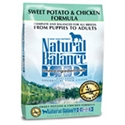 Natural Balance Sweet Potato & Chicken Formula Dry Dog Food natural balance, sweet potato, chicken, Dry, dog food, dog